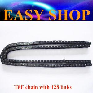 T8F 128L Links 8mm Drive Chain 33cc 43cc 47cc 49cc Kids MINI ATV QUAD DIRT BIKE