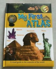 MY FIRST ATLAS ~ VISUAL GUIDE TO THE COUNTRIES OF THE WORLD ~ 2009 ~1ST EDITION!