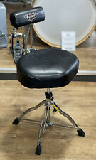 More details for tama drum stool 1st chair drum throne with back rest #648