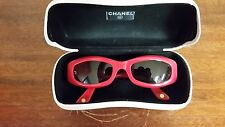 Women's Red Chanel Sunglasses 5014 c.527/91 51/20 135