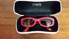 Women's Red Chanel Sunglasses 5014 c.527/91 51/20 135