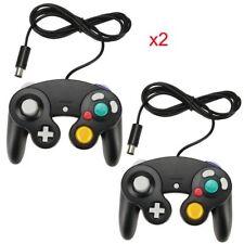 2x Nintendo gamecube Gc wii Controlador mando de juego Joystick Joypad