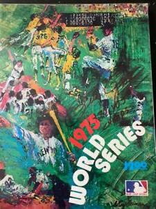 Pete Rose signed 1975 World Series program Cincinnati Reds autograph Tri Star