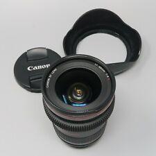 Canon EF 17-40mm f/4 L USM - plus Lens Hood