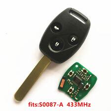 Remote Key for Honda S0087-A Accord Element Pilot Civic CR-V HR-V Fit Insight