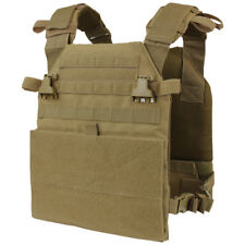 Condor Vanquish Plate Carrier Army Cadet Military Range MOLLE Vest Coyote Brown