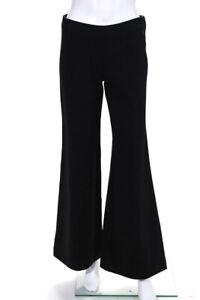 Cop Copine Womens Stretch Flare Leg Pants Black Size 36