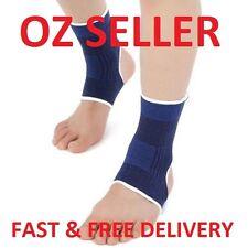 Hot Seller Sport Brace Ankle Support Elastic Compression Wrap Foot Sleeve Blue