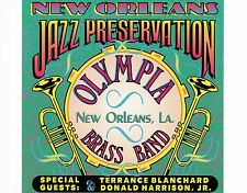 CD OLYMPIA BRASS BAND new orleans jazz preservation EX+