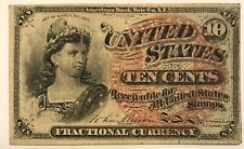 TEN CENTS FOURTH ISSUE FRACTIONAL CURRENCY