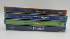 New! 4 Pack - Toy Story / Toy Story 2 / Finding Nemo / Frozen - Steelbook