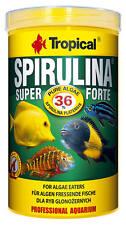 Tropical Spirulina Super 36% Forte Flakes 250ml - für Algen fressende Fische