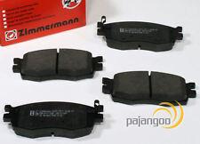 Hyundai i20 PB - Zimmermann Bremsbeläge Bremsklötze für vorne die Vorderachse*
