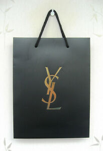 YSL Yves Saint Laurent Paper Carrier/Gift  Bag -  Large 33 x 25cm with handles