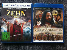 2 x THE TEN COMMANDMENTS - Blu Rays Region ALL - Charlton Heston / Dougrey Scott