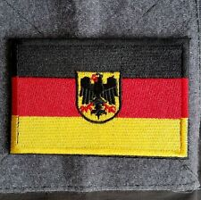 Germany German Eagle Country Flag 3D Army Morale Badge Embroidery Hook Patch -02