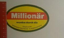 Pegatina/sticker: estatales noroeste Deutsche Klassenlotterie (2810163)