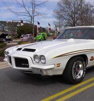 Classic GTO Pontiac Built 1970s 1 Vintage 24 Sport Car 25 White 12 Model 18 8