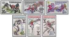 Timbres Sports Tchécoslovaquie 2266/71 ** lot 24015