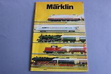 X240 MARKLIN Train catalogue 1975 98 pages 29,7*21 cm prix 1975 F wagon voiture