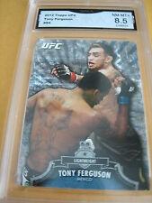 TONY FERGUSON WELTERWEIGHT 2012 TOPPS UFC # 84 GRADED  8.5 L@@@K