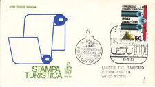 SAN MARINO 1973 - FDC VENETIA 134 - Congresso della stampa turistica