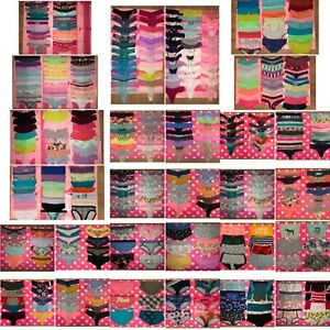 NWT Victoria's Secret and VS PINK 50 Panties Lot Mixed Styles Size Large