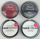 Technic or laval White,Red,Black Face Paint Make Up Cream Fancy Dress Halloween