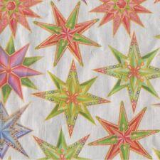 Caspari Jeweled Star Silver Gift Wrap Roll (96730RC)