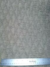 Blue/Grey Diamond Chenille Upholstery fabric.