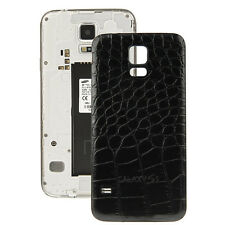 Samsung Galaxy S5 G900 Krokodil Leder Optik Back Cover Akku Deckel Hülle