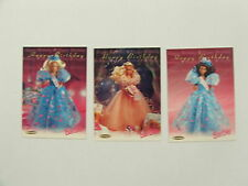 Barbie, 36 Years of, set of 3 Happy Birthday cards 1996