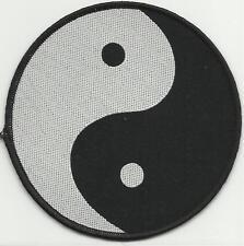 YIN & YANG symbol 2013 circular - WOVEN SEW ON PATCH