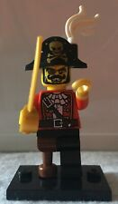 LEGO Minifigure Pirate Captain Series 8. #15 NEVER PLAYED WITH!!!!
