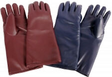 """NEW-AMS X-Ray Protective 15"""" 5-Finger Glove - (20801-BU)-Color is Brown/Burgundy"""