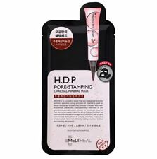 [MEDIHEAL] H.D.P Pore-Stamping Charcoal Mineral Mask Sheet Pack 10pcs