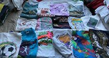 Vintage T Shirt Lot Of 90's Running Marathon Sports Graphic Shirts 15 Pieces