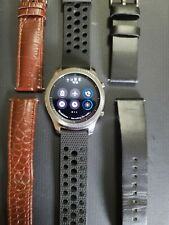 Samsung Galaxy Gear S3 classic 46mm Stainless Steel Case Multiple  Leather Bands