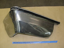 71 72 Cadillac Deville CHROME RIGHT FRONT BUMPER END W/ IMPACT RUBBER STRIP