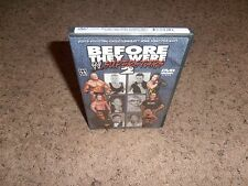 BEFORE THEY WERE SUPERSTARS 2 wwe BRAND NEW wrestling FACTORY SEALED dvd