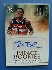 2012-13 BRADLEY BEAL PANINI INTRIGUE AUTO ROOKIE RC GOLD IMPACT #4/10! AUTOGRAPH