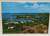 Postcard Real Photo Queen's View From Gibb's Hill Light, Southhampton, Bermuda