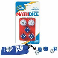 Thinfun Math Dice - Fun Mental Maths Game STEM Toy