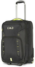 High Sierra AT8 Wheeled Carry On Upright Luggage 67929 - Black / Zest