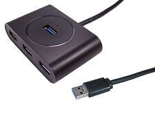 USB 3.0 4 Port Hub Mains Powered Newlink UK Plug PSU usb3