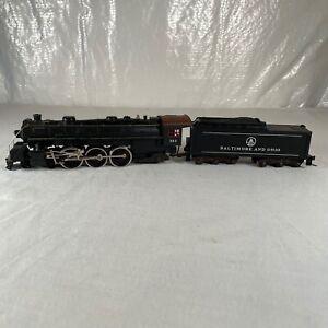 Mantua HO Scale Pacific 4-6-2 Steam Locomotive Baltimore & Ohio B&O # 283