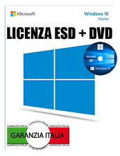 Microsoft Windows 10 Home 64 bit Product License Key CD DVD Disc Multilanguage