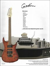 Godin Freeway SA electric guitar ad 8 x 11 advertisement print