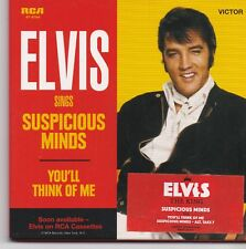 Elvis Presley-Suspicious Minds cd single