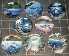 The Danbury Mint Robert Lyn Nelson Underwater Paradise Collector Plates set of 8